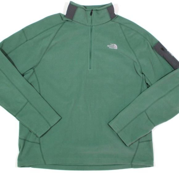 5d58f1388 The North Face 1/4 Zip Fleece Jacket Flash Dry
